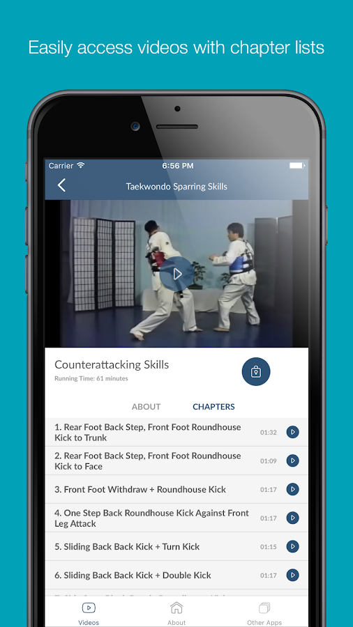 Taekwondo Sparring Skills- screenshot