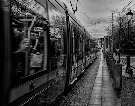 Photo: The LUAS line at The Green - Dublin