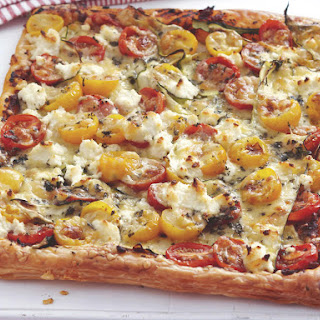 Cheesy Tomato Tart