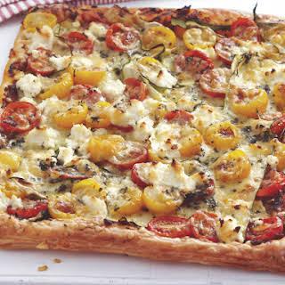Cheesy Tomato Tart.