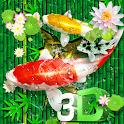 3D Koi Fish Bamboo Theme🐟 icon