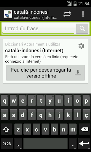 Catalan-Indonesian Dictionary