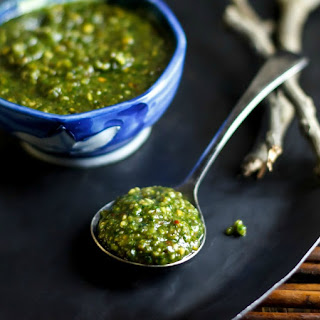 Thai Basil Pesto.