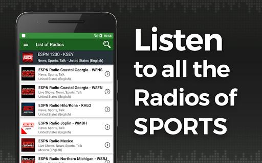 Sports Radio  screenshots 1