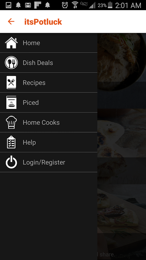 itsPotluck - Recipes & Dish- screenshot