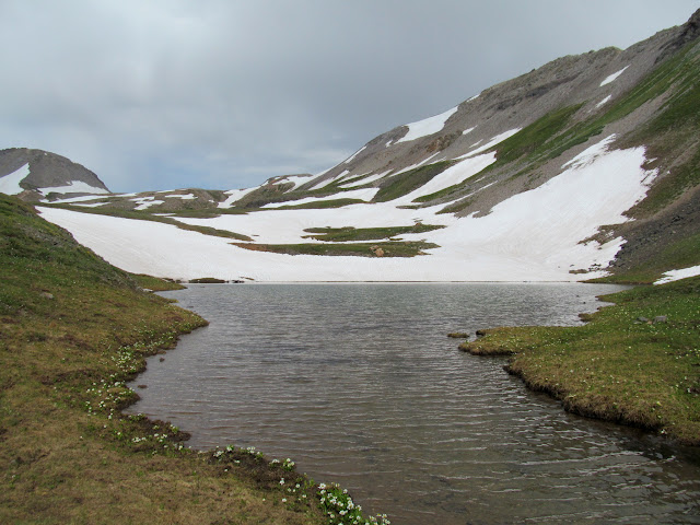 Small lake in Mineral Basin