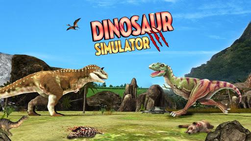 Dinosaur Games Simulator 2018  captures d'u00e9cran 1