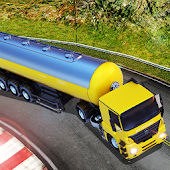 Oil Tanker Fuel Transporter 3D