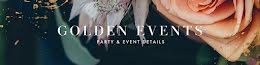 Golden Events Details - Etsy Shop Big Banner item