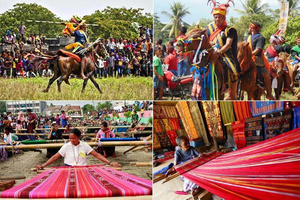 Parade Sandelwood & Festival Tenun Ikat Sumba