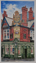 Photo: Morryce Maddams : The Queen's Arms ( Birmingham) : 36.5 x 20.5cm