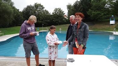 Photo: Schwimmprüfung Foto: G. Zimmer