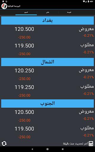 البورصة العراقية  Iraq Boursa screenshot 5