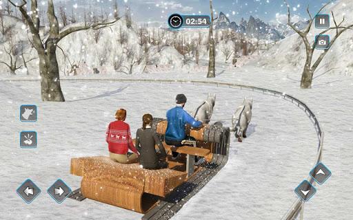 Snow Dog Sledding Transport Games: Winter Sports 1.4 screenshots 10