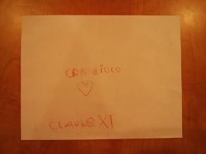 Photo: Clark's First Business Card