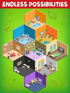 My Room Design – Home Decorating MOD (Diamonds/Gold Coins) 5