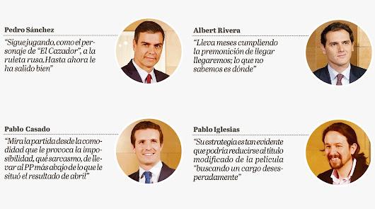 ¿Y si el problema fueran Sánchez, Casado, Iglesias y Rivera?