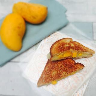 Mango Grilled Cheese Sandwich