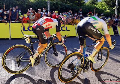 Sam Bennett heeft de tiende etappe van de Tour de France op zijn naam gezet