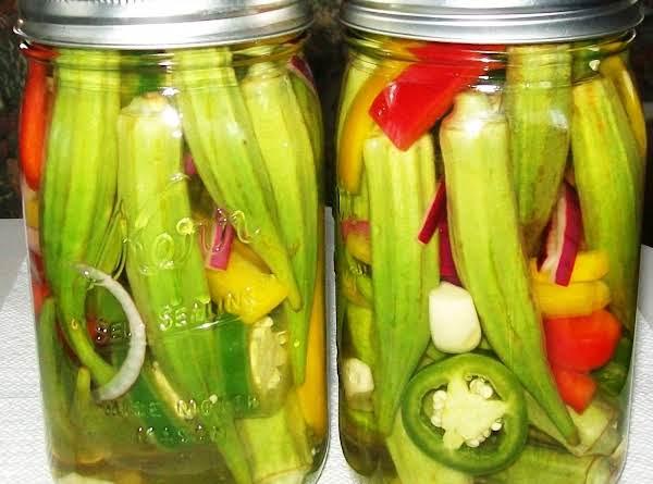 Pickled Bill Aka Okra Recipe