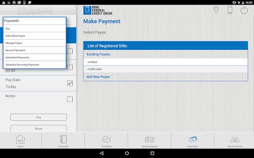 ORNL FCU Tablet - náhled