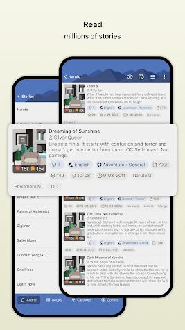 FanFiction.Net Screenshot