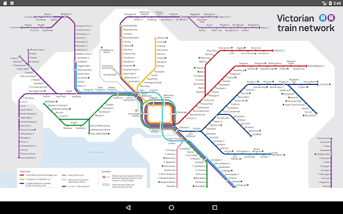 Melbourne Metro Map 2017 Apps On Google Play