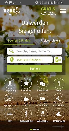 11880.com - Telefonbuch & Anruferkennung 8.4.0 screenshots 1
