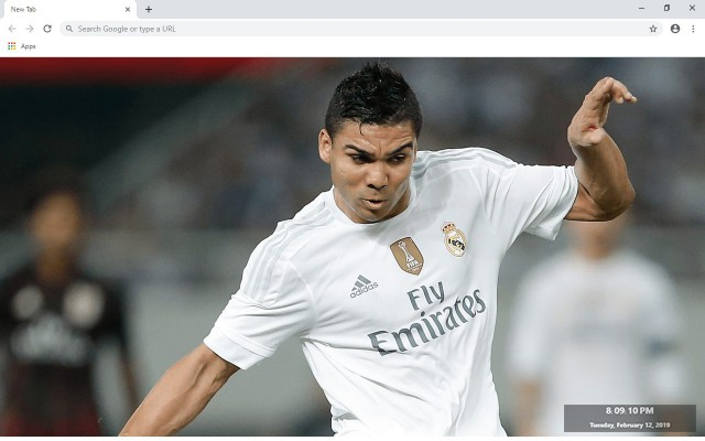 Casemiro New Tab & Wallpapers Collection