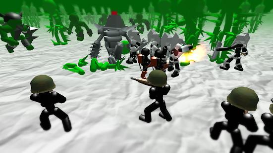 Stickman Simulator: Zombie Battle - náhled