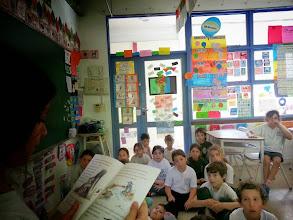 Photo: Momentos de lectura compartida 2do C