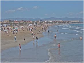 Photo: Playa de las Arenas. Valencia http://www.viajesenfamilia.it/