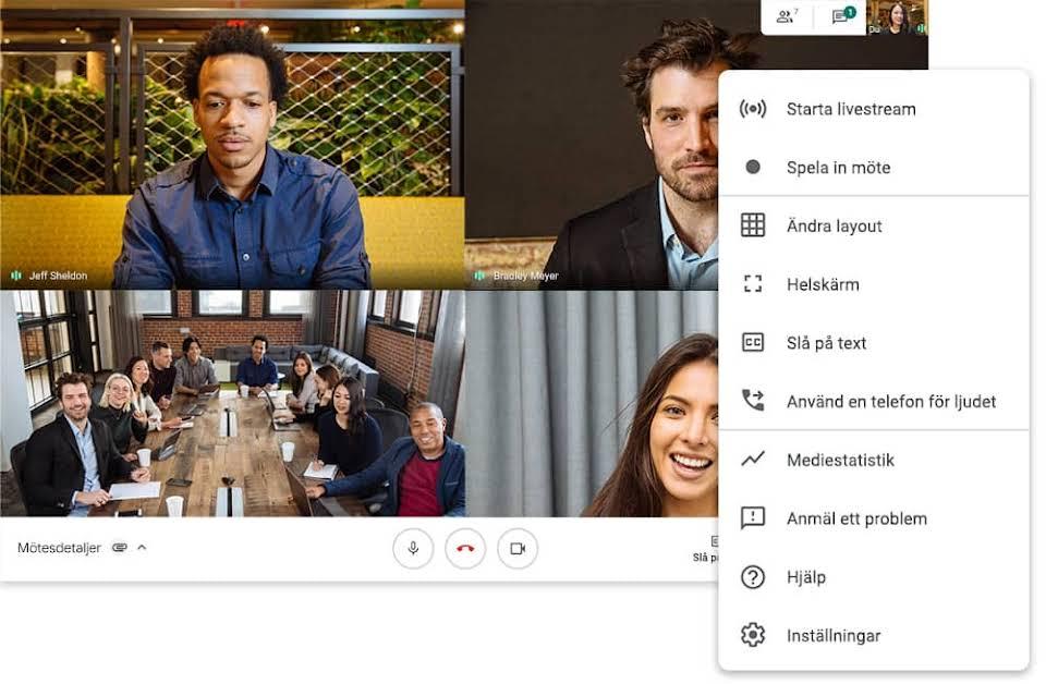 Vad är GoogleMeet