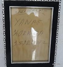 Photo: Çile Köy Kahvehanesi. Çile Üçdere Mevkii'ndeki kapalı patikanın açılıp işaretlenmesi. EFES-MİMAS (İYON) YOLU 2. Etabı - 29.11.1015