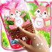 Cute bunny live wallpaper icon