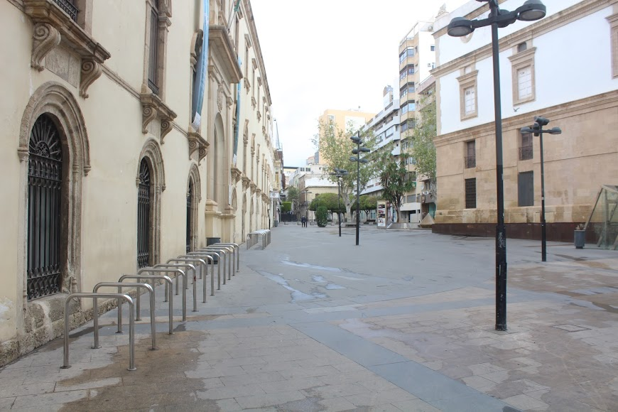 Plaza de Pablo Cazard.