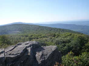 Photo: Entering the Shenandoah National Park