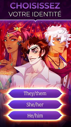 Code Triche The Arcana : Romance et Mystère, Histoire à choix APK MOD (Astuce) screenshots 1