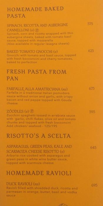 Italiano menu 5
