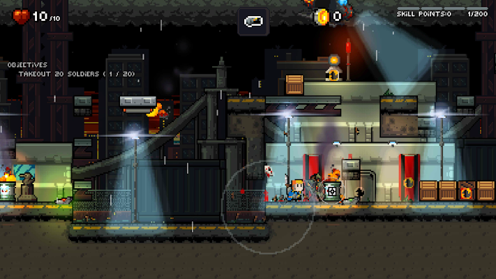 Gunslugs: Rogue Tactics Screenshot Image