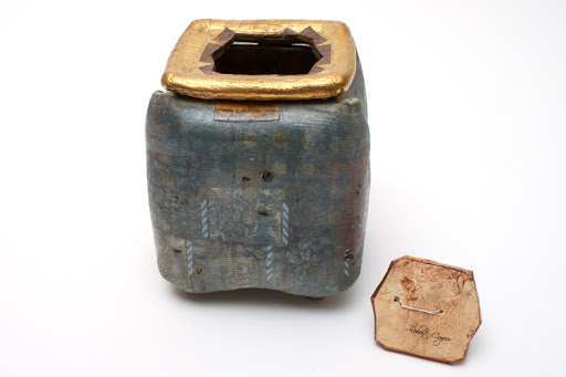 Robert Cooper Ceramic Tea Caddy 001