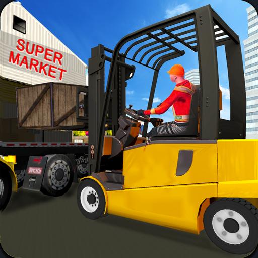 Supermarket Cargo Transport 3D