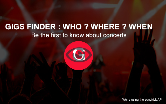 Find Concerts and Artists tour dates