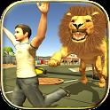 Wild Animal Zoo City Simulator icon