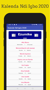 Download Kalenda Ndi Igbo 2020 For PC Windows and Mac apk screenshot 3