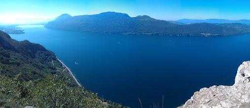 Photo: Dal Col de la Chambotte vista sul lago