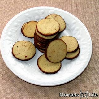 Chai Cookies.