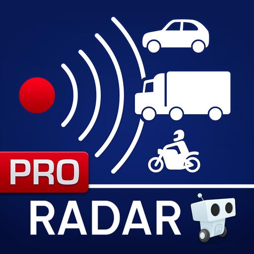 Radarbot Pro: Speed Camera Detector & Speedometer Icon