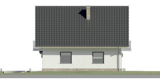 Dom przy Oliwkowej 2 N - Elewacja lewa