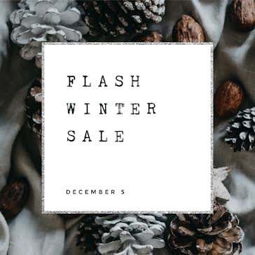 Flash Winter Sale - Instagram Post Template
